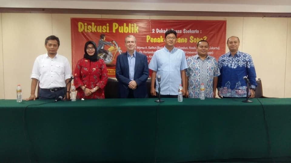 """Public discussion in the Leiden Lecture Series on """"Two Decades Post Indonesian Government Reform"""""""