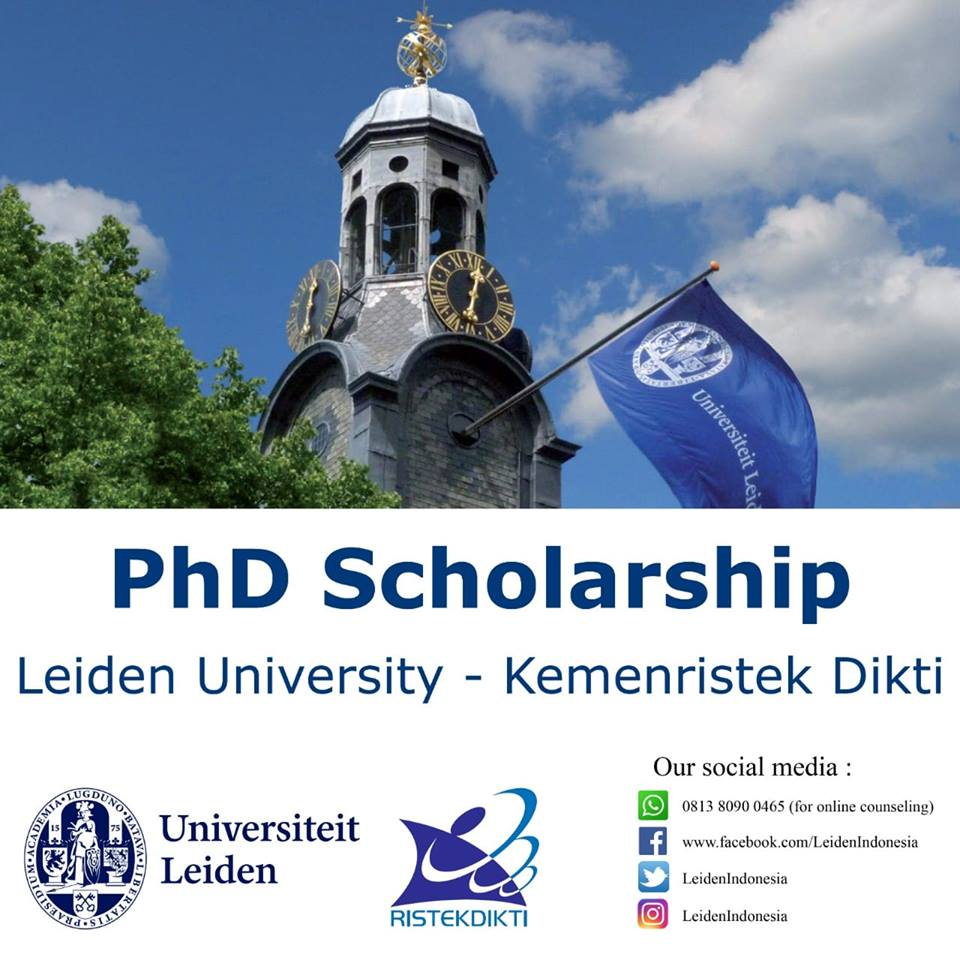 KemenRistekDikti-Leiden University Joint PhD Scholarship Program
